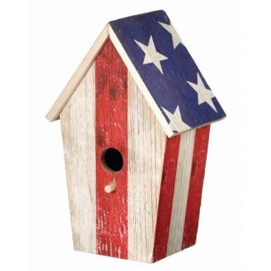 WOOD AMERICANA BIRD HOUSE 12